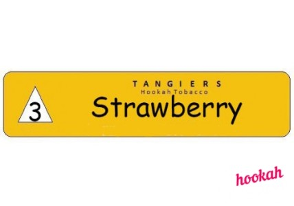 Табак для кальяна Tangiers Noir Strawberry - Обзор вкуса